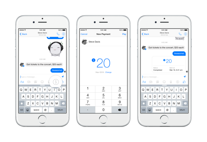 Messenger Payments