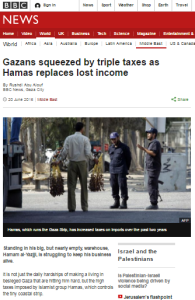 Abu Alouf Gaza taxes